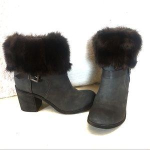Donna Salyers' Faux Fur Boot Cuffs